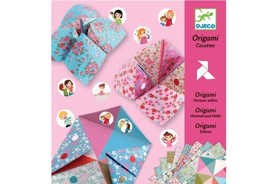 DJeco Origami saleros - cocottes a gages