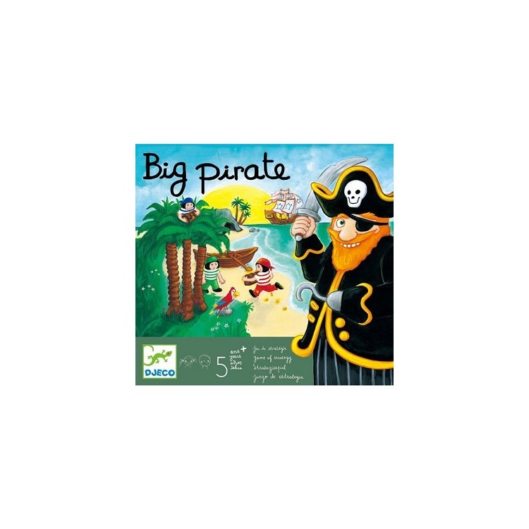 DJeco DJ08423 BIG PIRATE