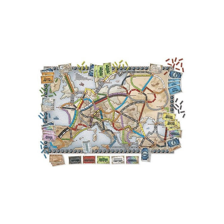 Asterion TICKET TO RIDE - EUROPA-